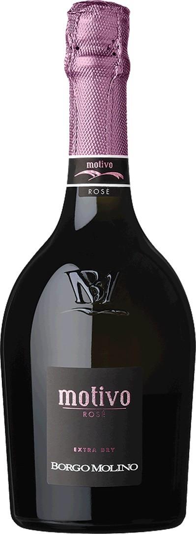 Motivo Rosé extra dry Vino Spumante, Marca Trevigiana IGT Borgo Molino Vigne & Vini Venetien