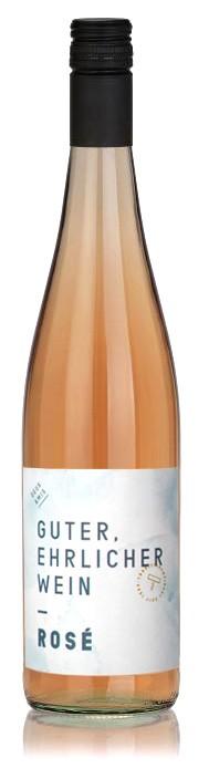 Guter, ehrlicher Wein Rosé Deux Amis Mosel