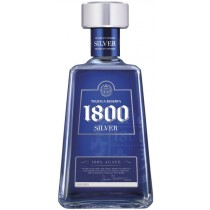 1800 Silver 38% vol  100% Agave Tequila  1800