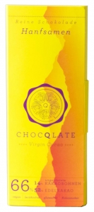 Virgin Cacao Schokolade – Hanfsamen Chocqlate